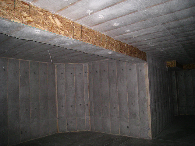 Homes and sites available energy efficient builders - Insulate interior walls for sound ...
