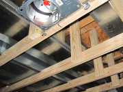 Extra framing supports for a better ceiling