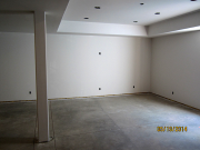 Drywall completed