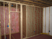 Walls between bedrooms are insulated