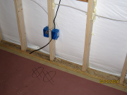 Low voltage boxes and wiring
