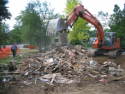 Demolition of existing house