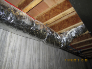 Insulated fresh air duct