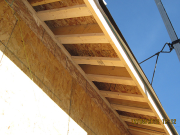 Blocks for soffits 12 inch O.C. for added strength & durability