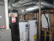 Relocated water heaters