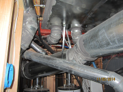 Mastic applied to ducts for better air flow