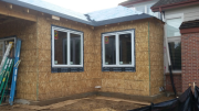 Sierra Pacific windows are installed