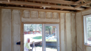 Walls are insulated with 2 inches, R-14 closed cell foam