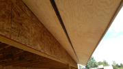 Soffits with continuous vent