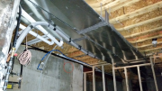 Main ducts in basement