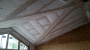 Insulated family room ceiling