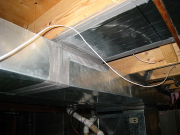New and old ductworks are sealed for better air supply