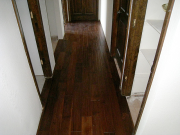 Hardwood floor in hallway