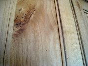 Detail of cabinet finish