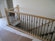New stair railing & balusters