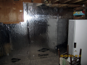 Thermax insulation on basement walls