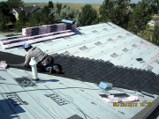 Roofers have started