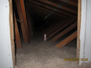 Insulation in main attic