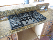 New gas cooktop