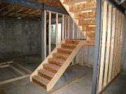 Lower set of stairs