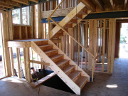 Upper set of stairs