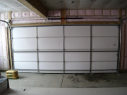 Garage doors are also insulated