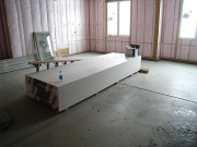 Drywall for garage delivered