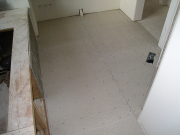 Hardibacker in master bathroom for higher quality of tile installation