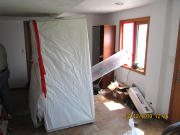 filteration venting for asbestos removal
