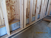 double basement walls to insulate foundation