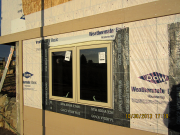 DOW house wrap & Vycor window flashings