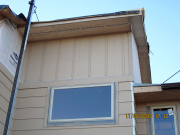 upper vertical siding