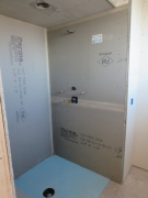 cement board used at shower walls