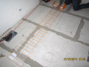 hallway will have heated floor