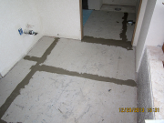 Hardi-Backer tile underlayment