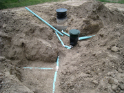 Rain water collecting system