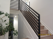 New metail railings
