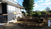 New deck - excavation for footings