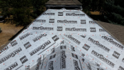 New master bedroom roof dry-in