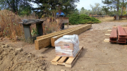 New deck beams delivered