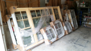 New windows delivered