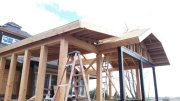 Roof overhang framing