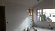 Drywall on master bedroom walls