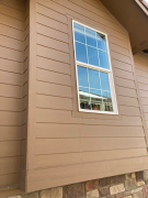Trim and siding to match existing