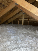 Existing attic installation