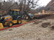 Trenching for Xcel gas lateral