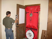 Blower Door Testing is Part of HERS Rating Process