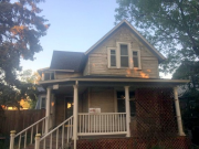 Front elevation after exterior abatement