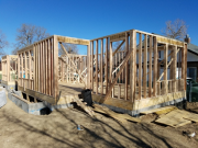 First floor framing