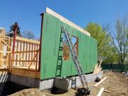 Insulated Zip Wall for advanced energy efficiency